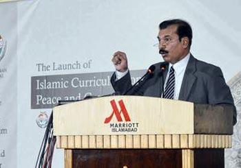 Dr Tahir ul Qadri islamic curriculum on peace & counter-terrorism launched in Pakistan