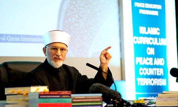 Tahirul Qadri launches anti-ISIS curriculum in Britain