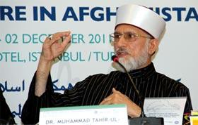 Dr Tahir-ul-Qadri speaks at International Conference Turkey on 'Peaceful Future in Afghanistan'