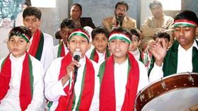 Minhaj Islamic Centre Sayyida Shah Jahan celebrates Quaid Day 2012
