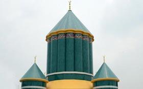 Minara-tus-Salam (Gosha-e-Durood) building: a rare combination of ancient art, calligraphy and  modern construction