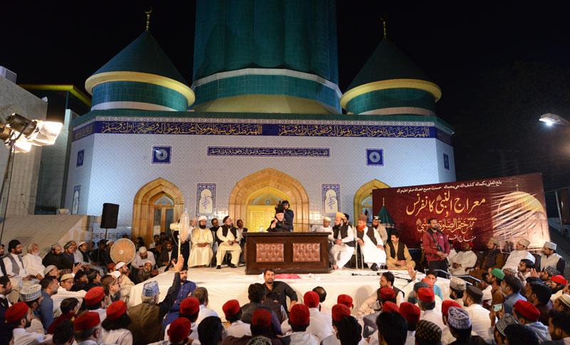 Dr Tahir-ul-Qadri addresses Miraj-un-Nabi ﷺ Conference